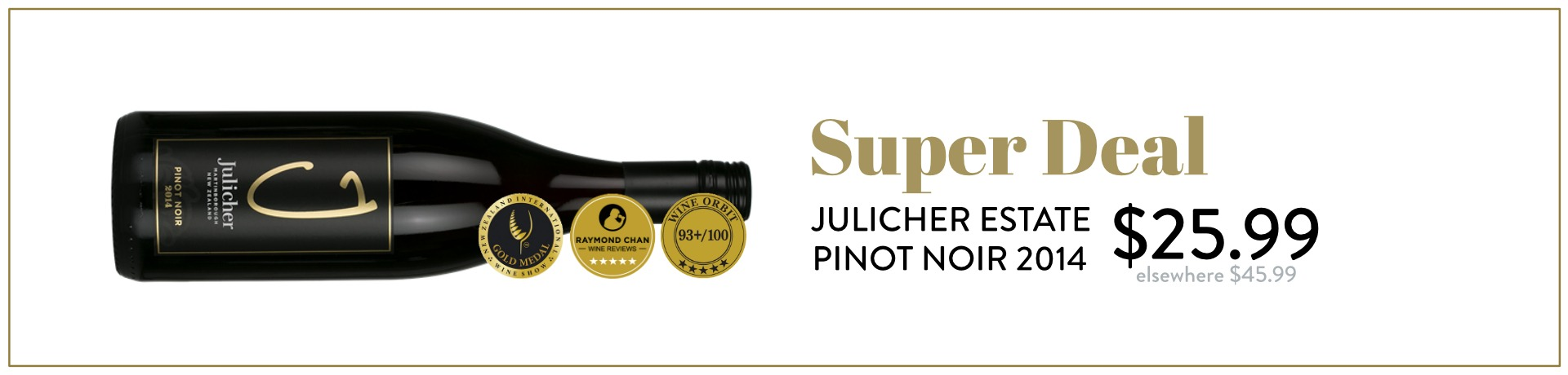 Julicher Estate Pinot Noir