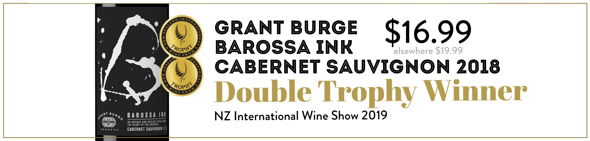 Grant Burge Barossa Ink Cabernet Sauvignon 2018
